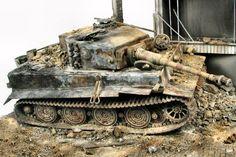 Tiger by Glenn Bartolotti Tank Armor, Military Action Figures, Tiger Tank, Model Tanks, Military Modelling, Ww2 Tanks, Battle Tank, Panzer, Armored Vehicles