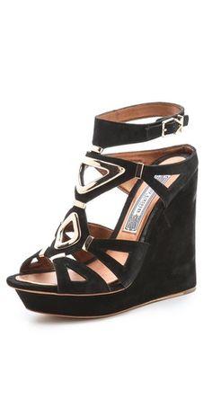 Ivy Kirzhner Nile Wedge Suede Sandals   SHOPBOP SAVE 25% use Code:INTHEFAMILY14