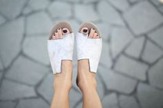 10% Sale, Simone Sandals, Scuffed White Sandals, White Leather Sandals, Flat Summer Shoes, Asymmetric Shoes, Toe Ring Sandals by abramey on Etsy https://www.etsy.com/listing/226292469/10-sale-simone-sandals-scuffed-white