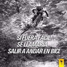 Si fuera fácil... ¡Se llamaría de otra manera!  #sifuerafacil #DarkDog #DD #deporte #igerssports #frases #motivación #energía #bebida #energética #energy #drink #energydrink #mountainbike #bike #bikers #fun #adrenalina #diversión #riesgo #extremo #felicidad #sano