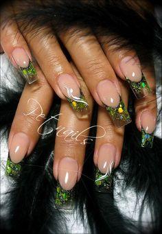 artificial nails motifs 5 best Source by Love Nails, Pretty Nails, Fun Nails, Colorful Nail Designs, Nail Art Designs, Nails Design, Nails Ideias, Wonder Nails, Nail Candy