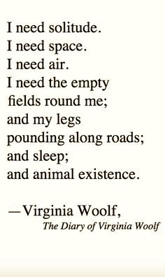 Gettin' feral, with Virginia Woolf, the diary of.