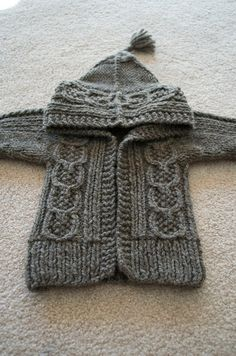 bilbo cardigan by Christi124, via Flickr