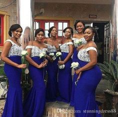 2019 South African Lace Bridesmaid Dresses Off Shoulder Wedding Party Dress Maid of Honor Elastic Satin Mermaid bridesmaid dress Wine Color Bridesmaid Dress, Formal Bridesmaids Dresses, Mermaid Bridesmaid Dresses, Designer Bridesmaid Dresses, Wedding Bridesmaid Dresses, Mermaid Dresses, Royal Blue Bridesmaids, Prom Dress, Maid Of Honour Dresses