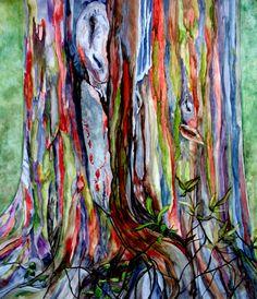 rainbow eucalyptus tree hawaii - Google Search
