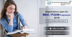Vocational Services is one of the Best Admission Consultants For MBA || PGDM & Top Colleges In India Toll free @18002126566 For know more details http://bit.ly/2ARKPU3