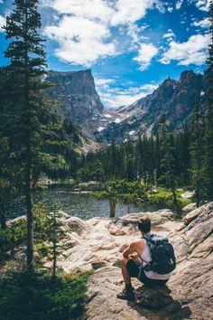 Dream Lake. Rocky Mountain National Park, Colorado.