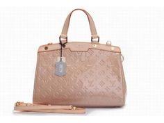 Louis Vuitton 91619600 Brea Leather Top Handbag - Pink