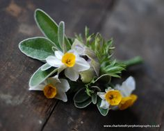lovely natural buttonhole