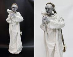OOAK FRIEDLY GHOST doll handmade art doll home by LalkowniaDolls