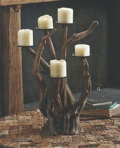 Recycled and Repurposed - eclectic - candles and candle holders - grand rapids - Heaven's Gate Home and Garden, LLC