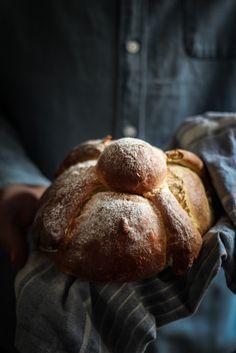 Pan de muerto aka Day of the Dead Bread ( Mexican)