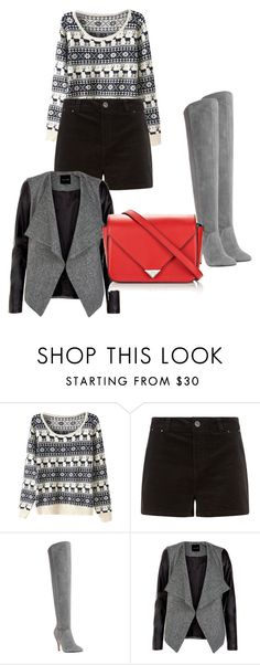 """RedBag"" by dzenita-219 on Polyvore featuring Dune and Alexander Wang"