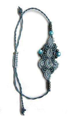 Flechtarmbänder - * Armbändchen Makramée * - ein Designerstück von crochet bei DaWanda