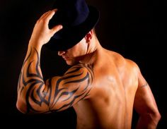 tribal cool sleeve tattoos for men
