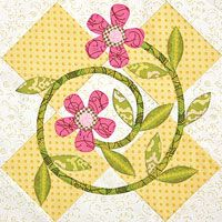 Summer's Best by Ann Weber in Quiltmaker's 100 Blocks Vol. 1; I would do the block w/o the diamonds;