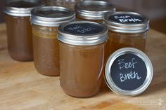 Meals are much richer and more flavorful with homemade broth. It's easy to make!