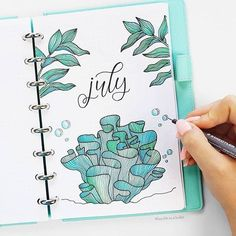 Find instant inspiration for the month covers in your bullet journal! All the Bullet Journal Ideas are gorgeous and will beautify your journal! Bullet Journal Month, Bullet Journal Cover Page, Bullet Journal Notebook, Bullet Journal Spread, Bullet Journal Layout, Journal Covers, Bullet Journal Inspiration, Bullet Journal Lettering Ideas, Bellet Journal