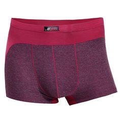 Mens Costura Color Casual Transpirable Antibacterial Modal Soft calzoncillos  boxer Men s Underwear 67f9311f018d
