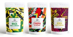 Mokoko Coffee on Packaging of the World - Creative Package Design Gallery