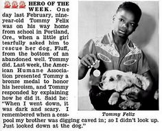 Tommy Felix of Portland, Oregon is a Hero of the Week - Jet Magazine, May 28, 1953 by vieilles_annonces, via Flickr
