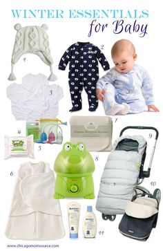 Chicago is having an epic winter, and if you have a baby, you know how important it is to protect him from the harsh winter air and temperatures. So here are a few of our favorite winter essentials to help keep baby warm and healthy this winter. 1. A warm and insulated hat with ear [Continue Reading]