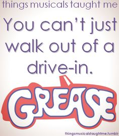 Grease... Movie prop idea with the speakers!
