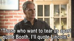 "NCIS: New Orleans Photos: ""Those who want to tear us apart quote Booth. I'll quote Lincoln."" on CBS.com"