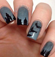 AAAAAHH Divergent nails!!!!!!