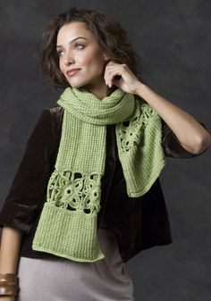 Stone Creek Scarf FREE pattern: Go to http://pinterest.com/DUTCHYLADY/share-the-best-free-patterns-to-knit/ for more than 1500 FREE patterns to KNIT