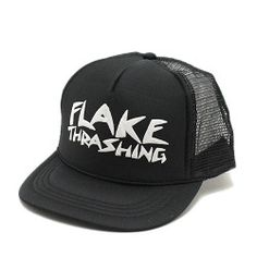 フレイクFLAKE子供服FLAKETHRASHINGOTTOキャップブラック(10)
