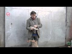 Sean Hellman: Making a ladle from a forked branch, a video