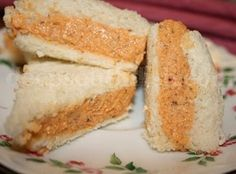 Pimento Cheese Finger Sandwiches
