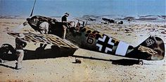 ME bf 109 North Africa WWII, pin by Paolo Marzioli