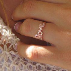 Lauren Conrad Love Ring made by tangerine jewelry shop | Tangerine Jewelry Shop