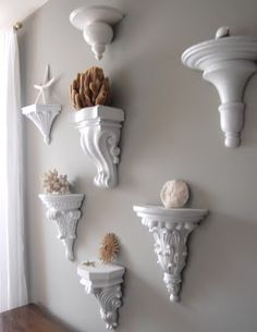 wall sconces as wall art