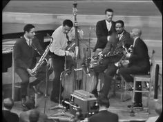 "Charles Mingus Sextet feat. Eric Dolphy - ""Take the ""A"" Train"" - live on April 12, 1964, filmed in Norway. Charles Mingus - Bass Eric Dolphy - Bass Clarinet Clifford Jordan - Tenor Sax Johnny Coles - Trumpet Jaki Byard - Piano Dannie Richmond - Drums"