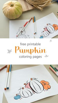 Sweet and Simple Magazine: Free Printable Pumpkin Coloring Pages