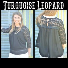 Love this lace babydoll top! Available in S-M-L for $32! Comment email address and size to order! #turquoiseleopardboutique