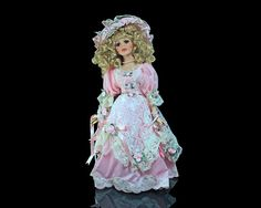 Heritage Signature Porcelain Doll Savannah Southern Romance by MountainAireVintage | Etsy