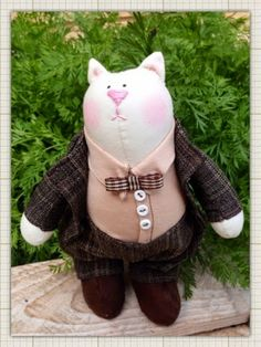Pixie-Crafts Art Dolls : Mr Darcy Tiddles