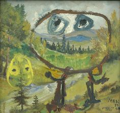 Asger Jorn, Lockung (Souriez Rue Froide, Enticement) 1960
