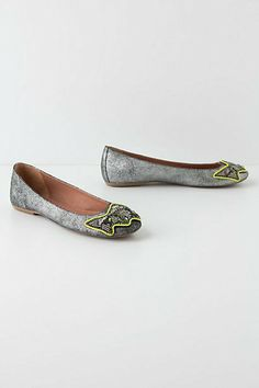 Women GC Shoes EMMA Ballerina Flats Shoes Black Pink Size 8.5 6.5 Tribal Print