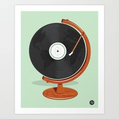 World Record Art Print by Ryder Doty - $20.00