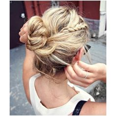 The One Where I Maybe Care About How I Look... / { hair } via Polyvore