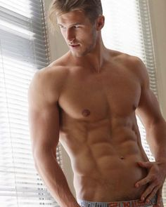 Male Model, Good Looking, Beautiful Man, Guy, Handsome, Hot, Sexy, Eye Candy, Muscle, Hunk, Abs, Six Pack, Shirtless 男性モデル