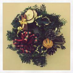 "Tina Harvey on Instagram: ""Wreath is up!  #christmaswreath #moreismore #gobigorgohome"" Christmas Wreaths, Halloween, Instagram, Decor, Christmas Garlands, Decoration, Decorating, Holiday Burlap Wreath, Dekorasyon"
