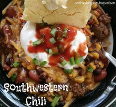 Smith and Blessings: Tasty Tuesday: Southwestern Chili