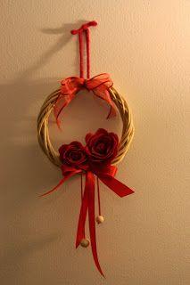 Ghirlanda rose.  Locandarosa.blogspot.it