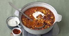 Raffiniertes Rezept für Chili con Carne. Hackfleisch, Kidneybohnen, Mais und Co. in ihrer wohl leckersten und wahrscheinlich schärfsten Form!